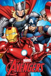 Avengers-Dětská fleecová deka Avengers 100x150 cm