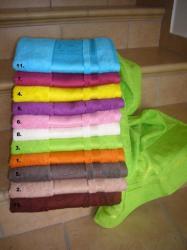 Bambusové ručníky a osušky Panda-Bambusový ručník Panda 50x100 žlutý