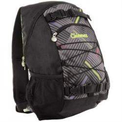Batoh Chiemsee Black comp stripe check black 102671