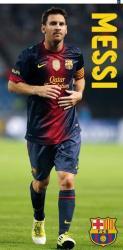 Bavlnená osuška DADKA FC Barcelona Messi 75x150 cm