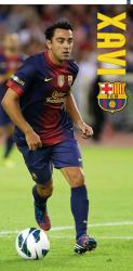 Bavlnená osuška DADKA FC Barcelona - Xavi 75x150 cm