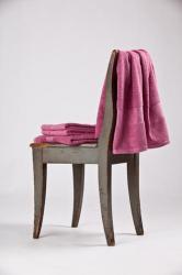 Bavlnený uterák a osuška Interimex BR-5852 ružový - osuška 70x140cm
