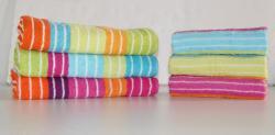 Bavlnený uterák DADKA žakár prúžok