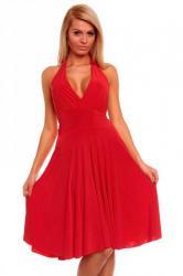 Červené dámske šaty Queen of Hs - sa86re