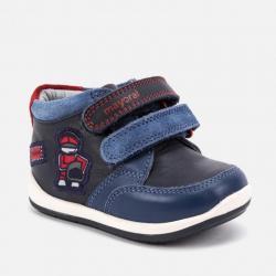Chlapecká kožená, kotníková obuv MAYORAL 42048
