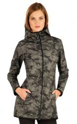 Dámska bunda softshellová s kapucňou Litex 60280