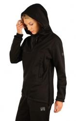 Dámska bunda softshellová s kapucňou Litex 7A208