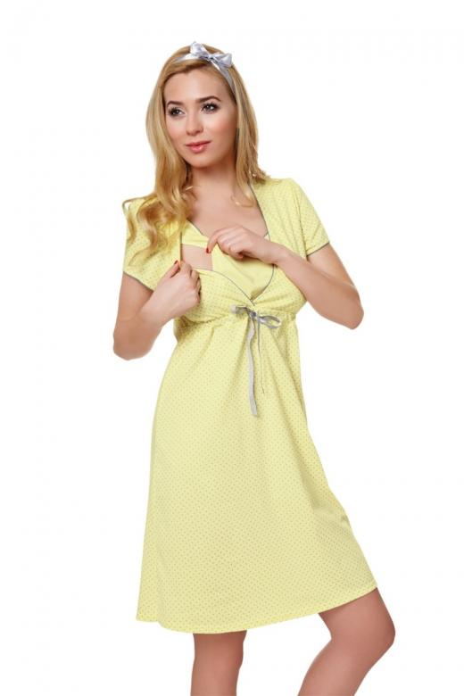 c39d978cd792 Dámska dojčiace košeľa Italian Fashion Felicita žltá - Italian ...