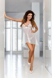Dámska erotická košieľka Axami V-6439 Bianco