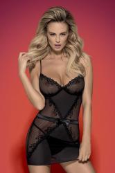Dámska erotická košieľka Obsessive Lustella chemise XXL