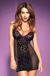 Dámska erotická košieľka Obsessive Tigra chemise