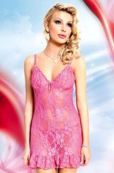Dámska erotická košieľka Softline collection April pink