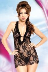 Dámska erotická košieľka Softline collection Carmen black