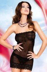 Dámska erotická košieľka Softline Collection Deni black