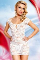 Dámska erotická košieľka Softline Collection Linley white