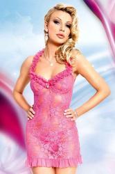 Dámska erotická košieľka Softline Collection Mia pink