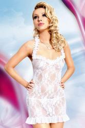 Dámska erotická košieľka Softline Collection Mia white