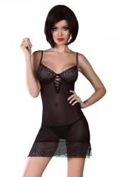 Dámska erotická košilka LivCo Florizel černá