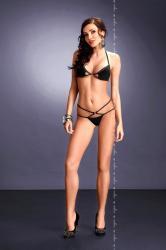Dámska erotická súprava Me-Seduce Palmira set čierna