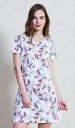 Dámska farebná nočná košeľa Vienetta Secret Adéla
