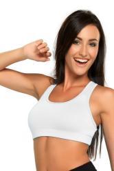 Dámska fitness podprsenka WINNER Nika white