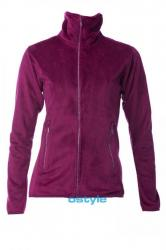 Dámska fleece mikina O'STYLE 6302 fialová
