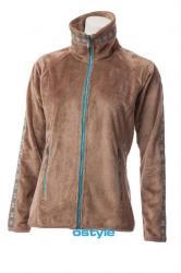 Dámska fleece mikina O'STYLE 6303 zlatá