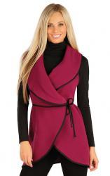 Dámska fleecová vesta dlhá Litex 60485