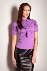 Dámska košeľa Figl M008 violet