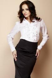 Dámska košeľa Figl M012 white