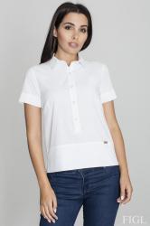 Dámska košeľa Figl M548 biela