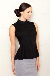 dámska košeľa fígľov M357 čierna