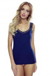 Dámska košilka Eldar Lori plus modrá