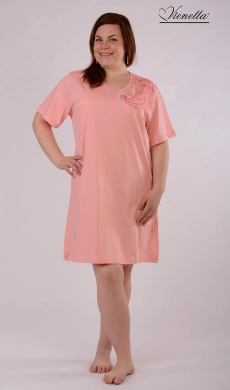 08291ff3d Dámska nadmerná nočná košeľa Vienetta Secret Ornament - Vienetta ...