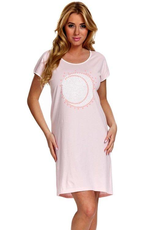 126a94f84e86 Dámska nočná košeľa Italian fashion Megan peach - Italian Fashion ...