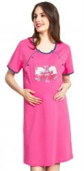 Dámska nočná košeľa materská Vienetta Secret Batoľatá