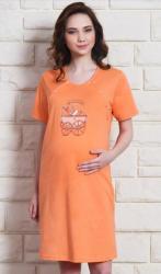 Dámska nočná košeľa materská Vienetta Secret Kočík