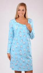 Dámska nočná košeľa materská Vienetta Secret Malí Méďové