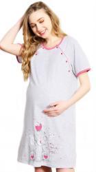 Dámska nočná košeľa materská Vienetta Secret Malý tiger