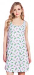 Dámska nočná košeľa na ramienka Vienetta Secret Kaktus