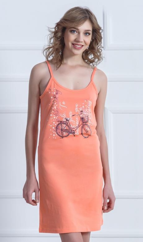 3f15fad5ff5b Dámska nočná košeľa na ramienka Vienetta Secret Kolo - Vienetta ...
