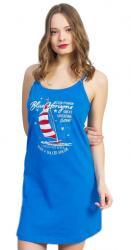 Dámska nočná košeľa na ramienka Vienetta Secret Plachetnica