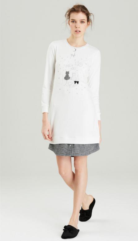 Otázky k produktu Dámska nočná košeľa Noidinotte LA1674 - Noidínotte ... dae4aae75ec