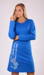 Dámska nočná košeľa s dlhým rukávom Vienetta Secret Angelina