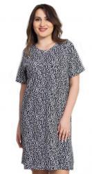 Dámska nočná košeľa s krátkym rukávom Vienetta Secret Izabela