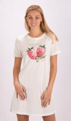 Dámska nočná košeľa s krátkym rukávom Vienetta Secret Jahoda