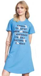 Dámska nočná košeľa s krátkym rukávom Vienetta Secret Monday
