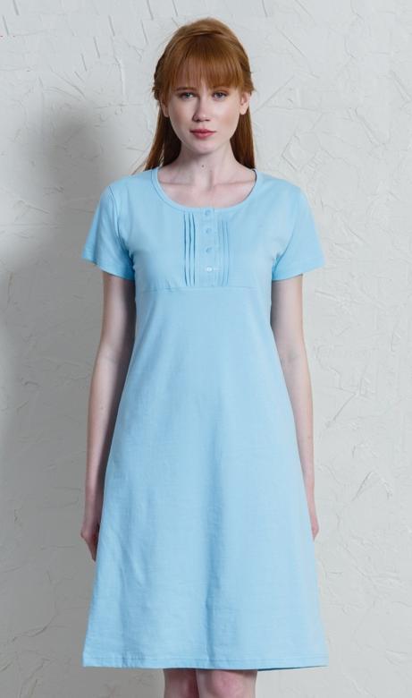 d3881e528957 Dámska nočná košeľa s krátkym rukávom Vienetta Secret Petra ...