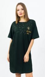 Dámska nočná košeľa s krátkym rukávom Vienetta Secret Wish