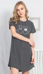 Dámska nočná košeľa s krátkym rukávom Vienetta Secret